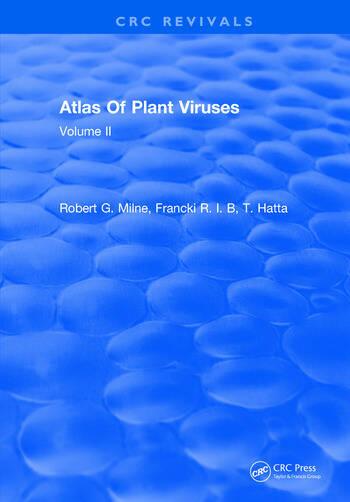 Atlas Of Plant Viruses Volume II book cover