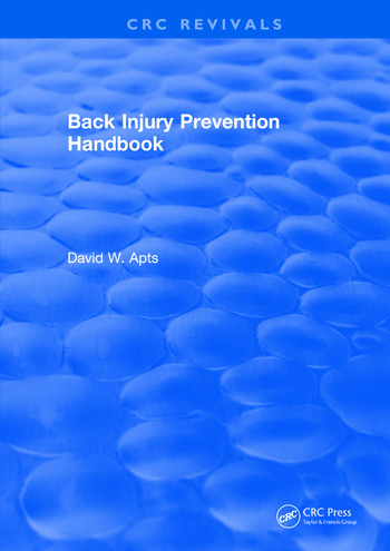 Back Injury Prevention Handbook book cover