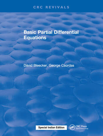 Basic Partial Differential Equations book cover