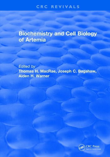 Biochemistry and Cell Biology of Artemia book cover