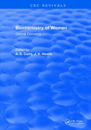 Biochemistry of Women Clinical Concepts book cover