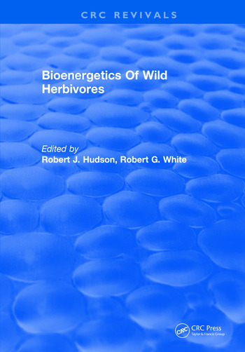 Bioenergetics Of Wild Herbivores book cover