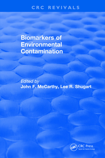 Biomarkers of Environmental Contamination book cover