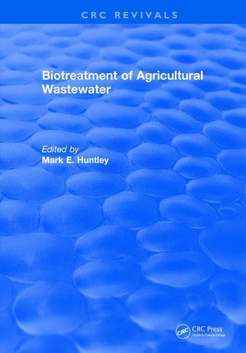 Biotreatment of Agricultural Wastewater book cover