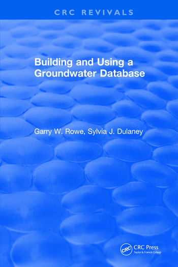 Building and Using a Groundwater Database book cover