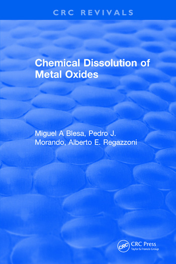 Chemical Dissolution of Metal Oxides book cover