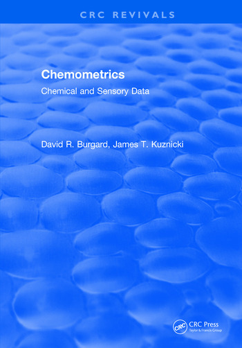 Chemometrics Chemical and Sensory Data book cover