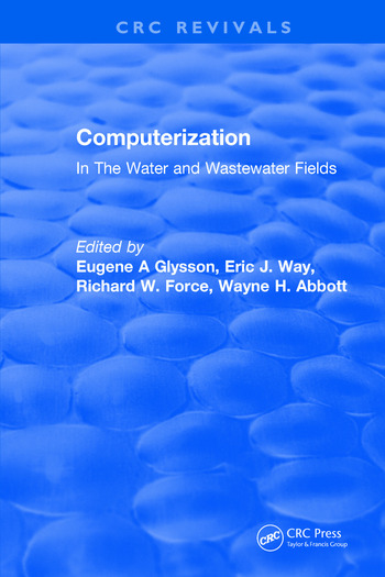 Computerization In The Water and Wastewater Fields book cover