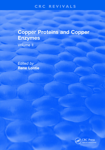 Copper Proteins and Copper Enzymes Volume II book cover