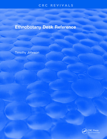 CRC Ethnobotany Desk Reference book cover