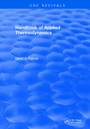 CRC Handbook of Applied Thermodynamics book cover