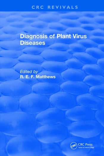 Diagnosis of Plant Virus Diseases book cover