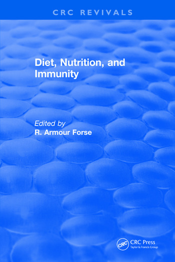 Diet Nutrition and Immunity book cover