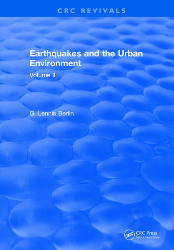 Earthquakes and the Urban Environment Volume 2 book cover