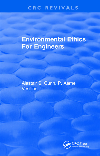 Environmental Ethics For Engineers book cover