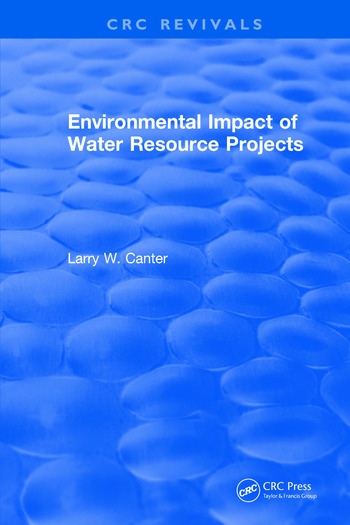Environmental Impact of Water Resource Projects book cover