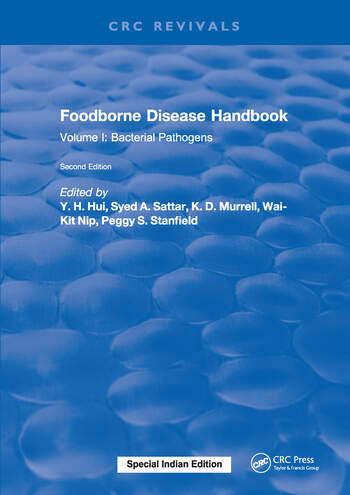 Foodborne Disease Handbook, Second Edition Volume I: Bacterial Pathogens book cover