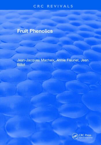 Fruit Phenolics book cover