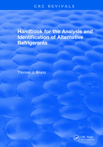 Handbook for the Analysis and Identification of Alternative Refrigerants book cover