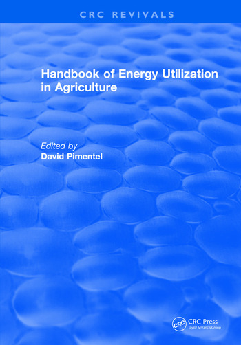 Handbook of Energy Utilization In Agriculture book cover