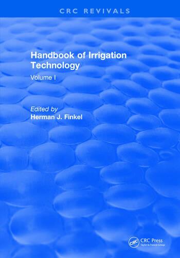 Handbook of Irrigation Technology Volume 1 book cover
