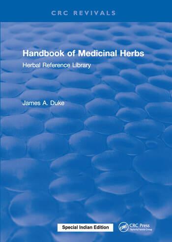 Handbook of Medicinal Herbs Herbal Reference Library book cover
