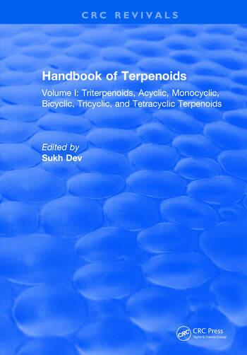 Handbook of Terpenoids Volume I: Triterpenoids book cover