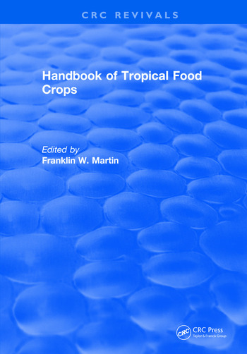 Handbook of Tropical Food Crops book cover