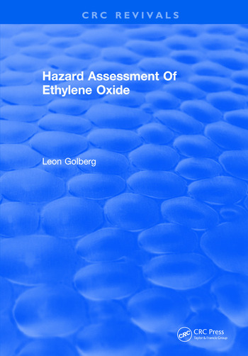 Hazard Assessment Of Ethylene Oxide book cover