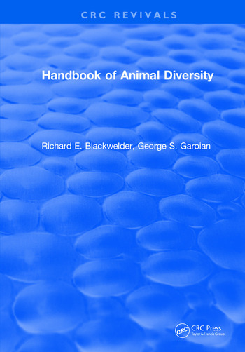 Handbook of Animal Diversity book cover