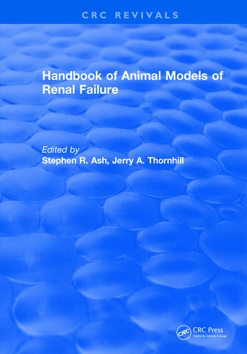 Handbook of Animal Models of Renal Failure book cover
