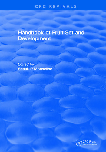Handbook of Fruit Set and Development book cover