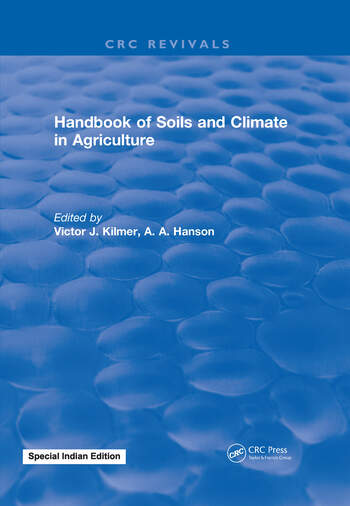 Handbook of Soils and Climate in Agriculture book cover