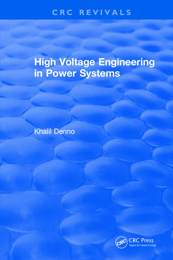 High Voltage Engineering in Power Systems book cover