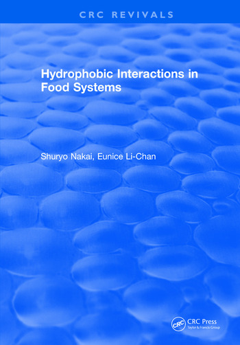 Hydrophobic Interactions in Food Systems book cover