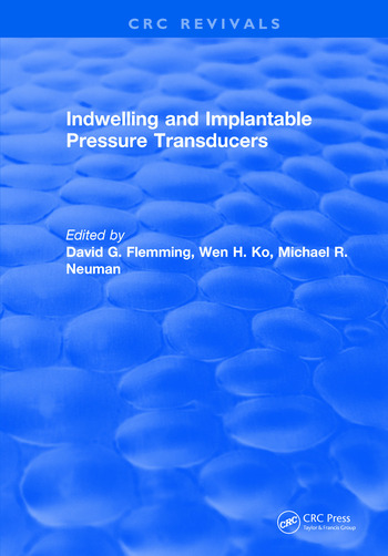Indwelling and Implantable Pressure Transducers book cover