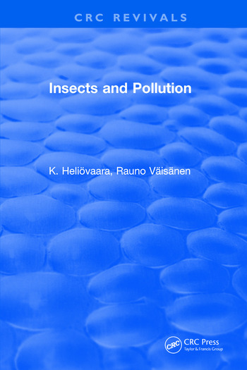 Insects and Pollution book cover