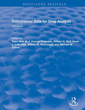 Instrumental Data for Drug Analysis, Second Edition Volume V book cover