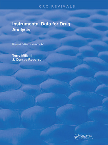 Instrumental Data for Drug Analysis, Second Edition Volume IV book cover