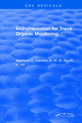 Instrumentation for Trace Organic Monitoring book cover