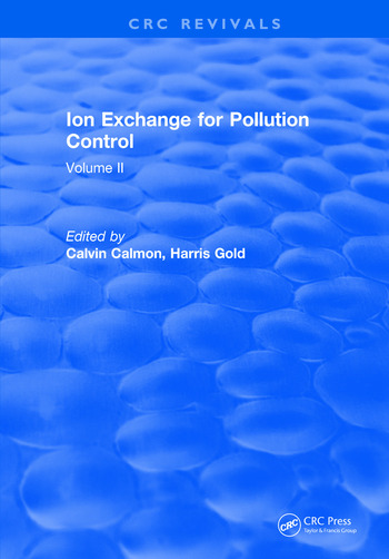 Ion Exchange Pollution Control Volume II book cover
