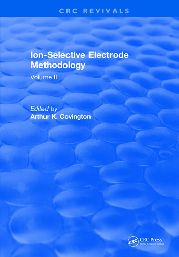 Ion Selective Electrode Method Volume 2 book cover