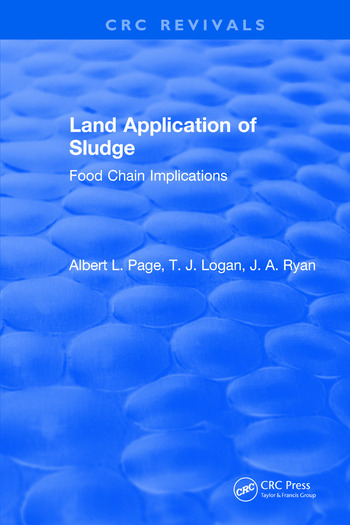 Land Application of Sludge book cover