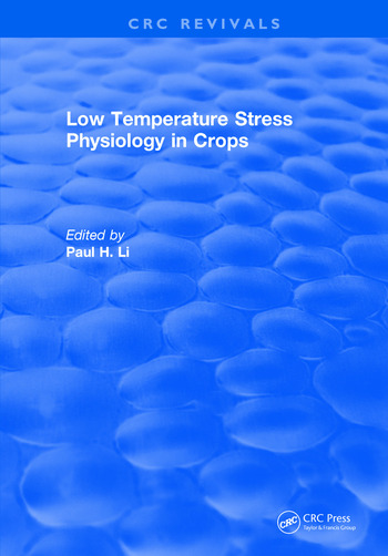 Low Temperature Stress Physiology in Crops book cover