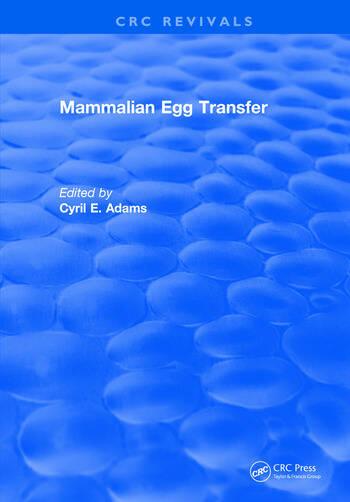 Mammalian Egg Transfer book cover