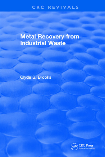 Metal Recovery from Industrial Waste book cover