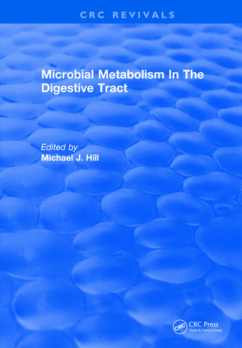 Microbial Metabolism In The Digestive Tract book cover