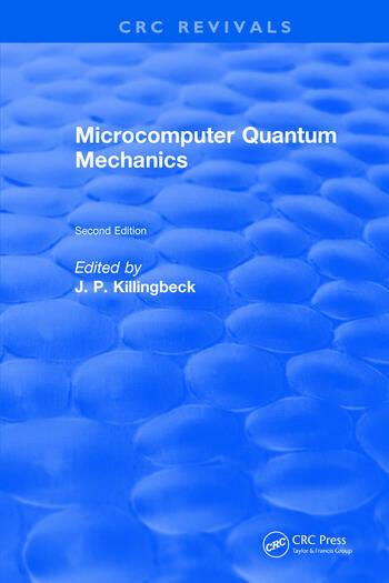 Microcomputer Quantum Mechanics book cover