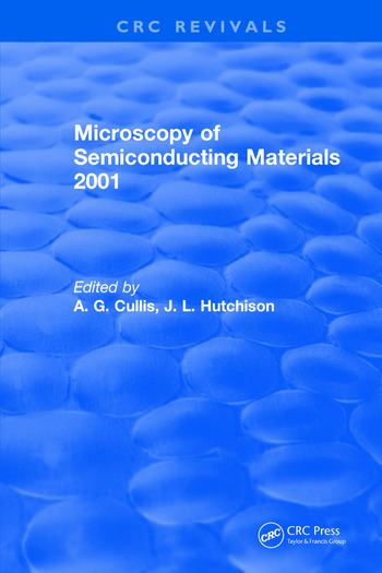 Microscopy of Semiconducting Materials 2001 book cover