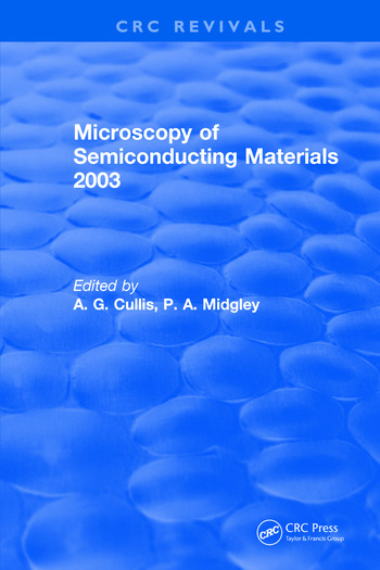 Microscopy of Semiconducting Materials 2003 book cover